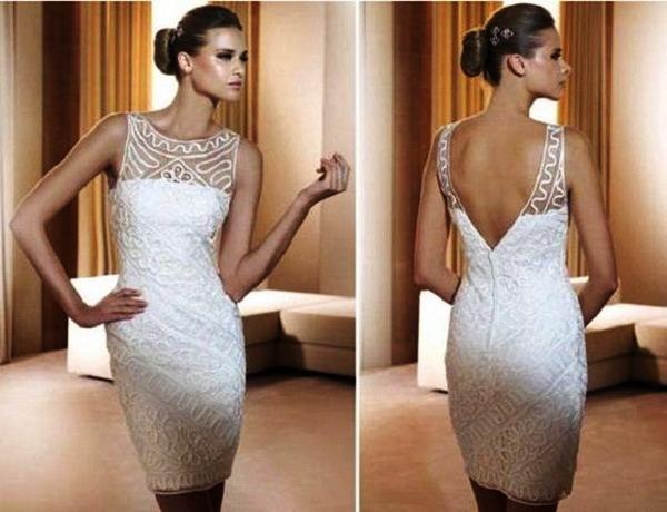 Sexy Short Wedding Dresses (34)