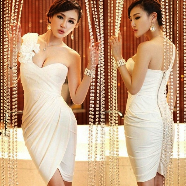 Sexy Short Wedding Dresses (4)