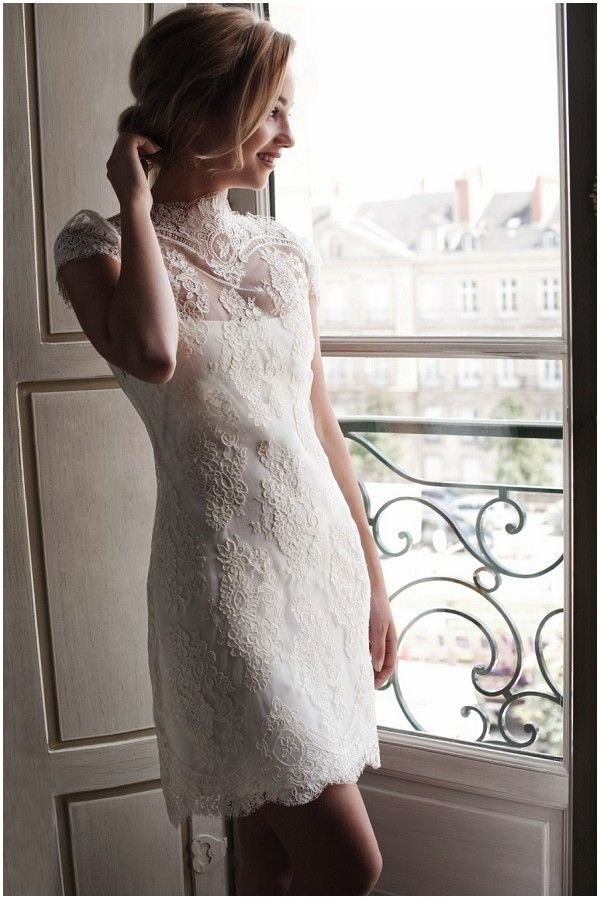 Sexy Short Wedding Dresses (5)