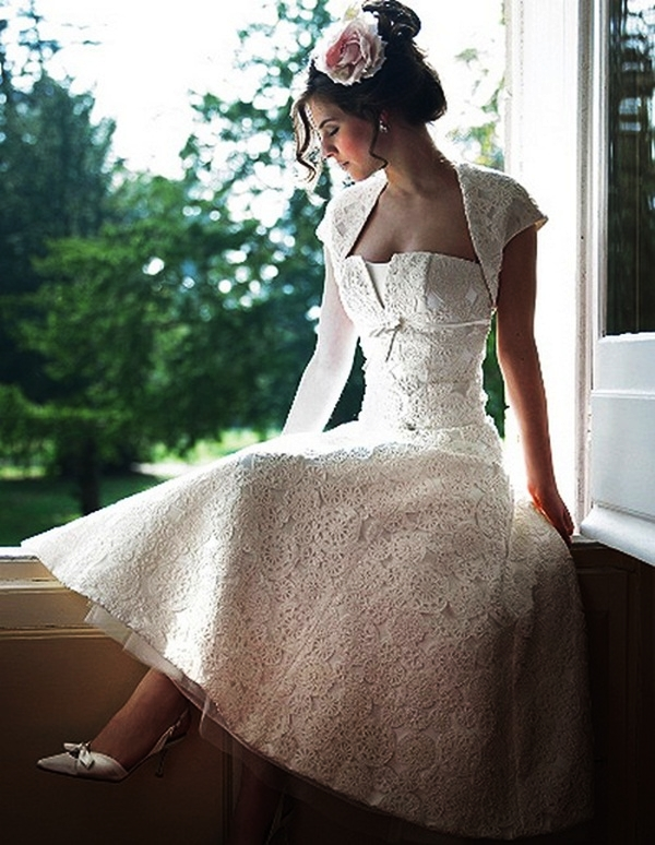 Sexy Short Wedding Dresses (6)