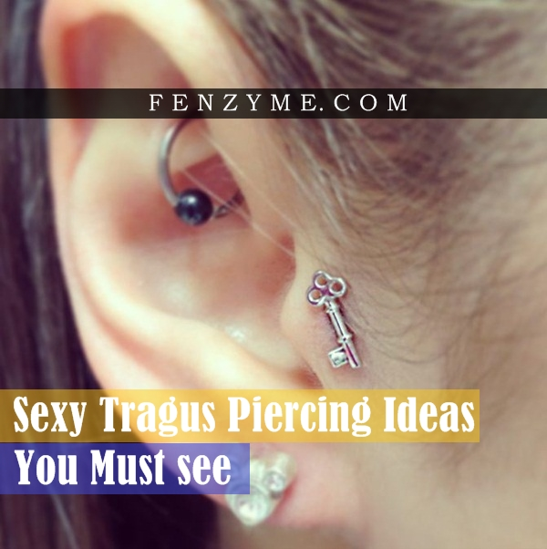 Sexy Tragus Piercing Ideas1.1