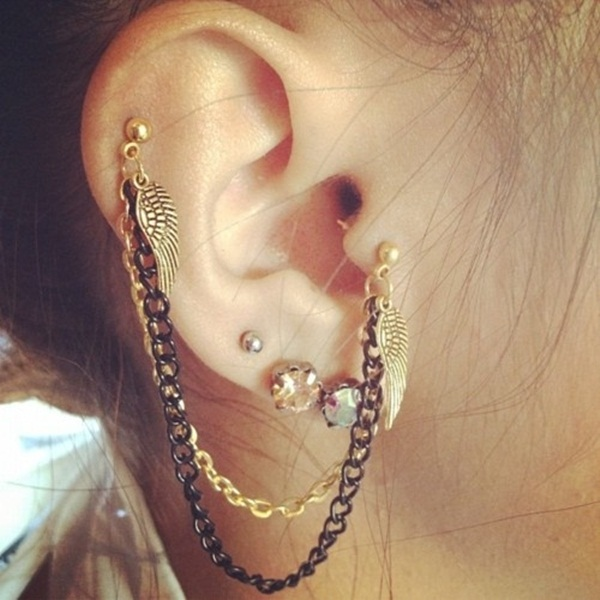 Sexy Tragus Piercing Ideas10