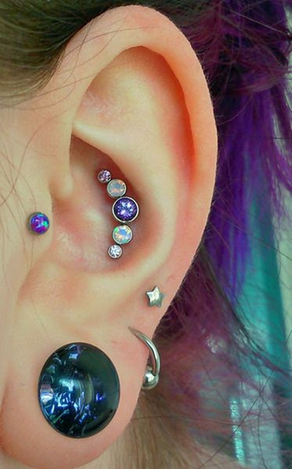 Sexy Tragus Piercing Ideas12