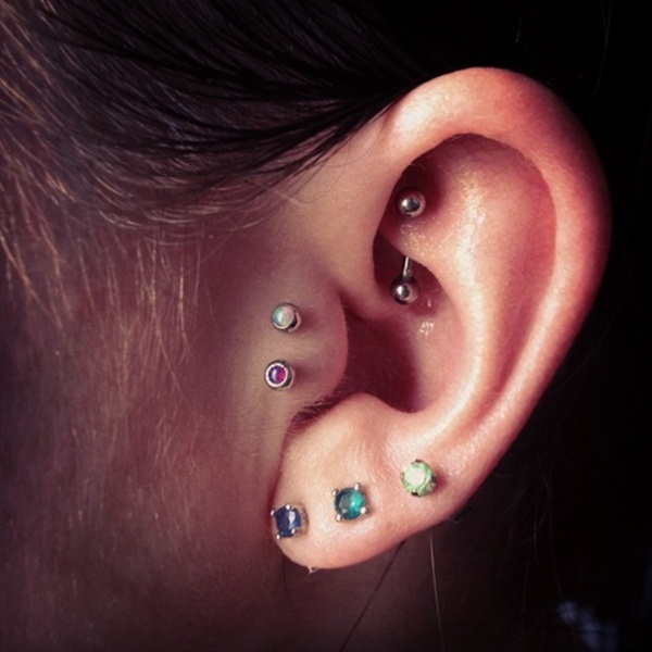 Sexy Tragus Piercing Ideas14.1