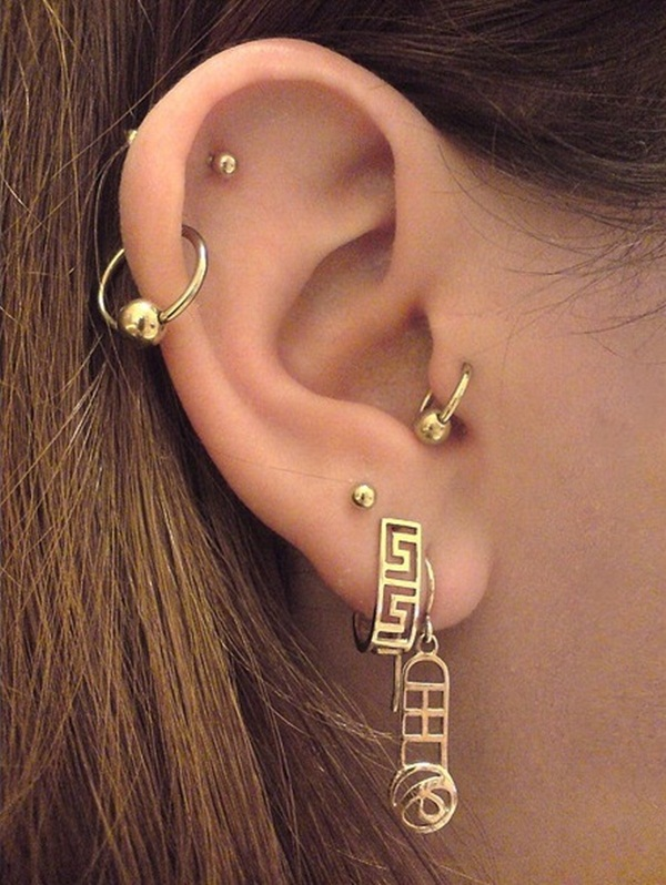 Sexy Tragus Piercing Ideas14