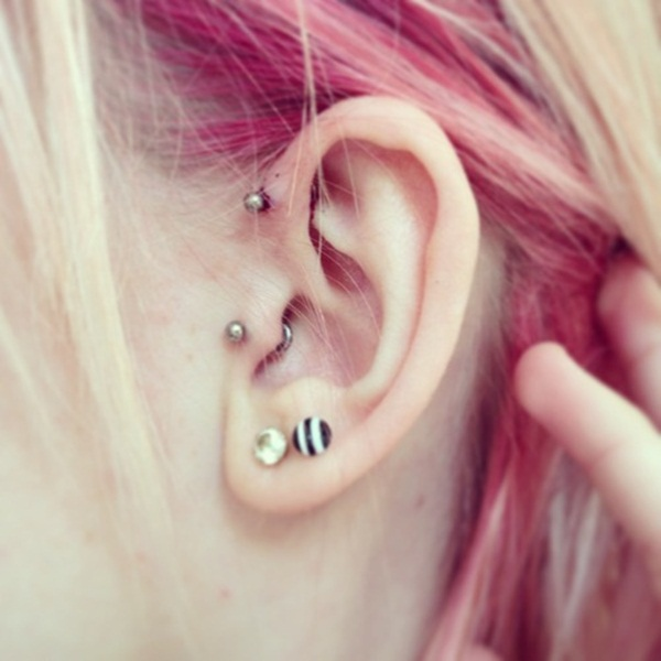 Sexy Tragus Piercing Ideas17.1