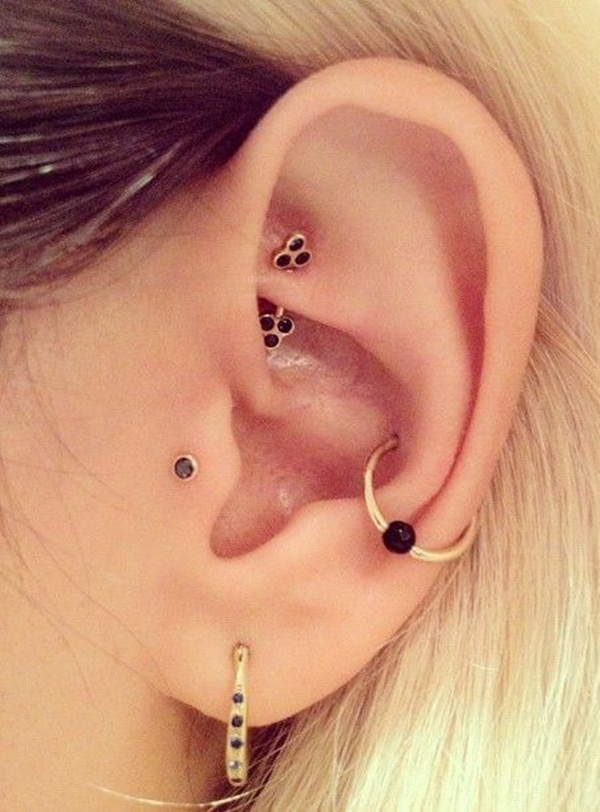 Sexy Tragus Piercing Ideas18