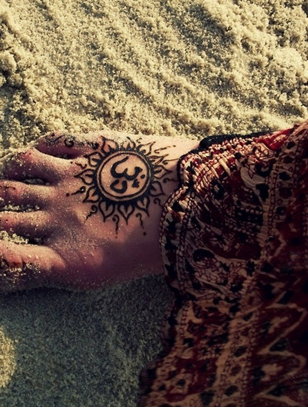 Sun Tattoo Designs for Men and Women (13)
