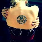 Sun Tattoo Designs for Men and Women (2)