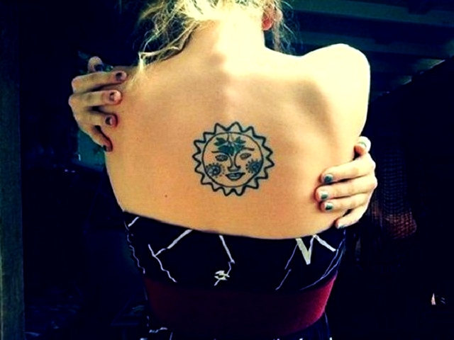 Latest 45 Dynamic Sun Tattoo Designs For Men And Women