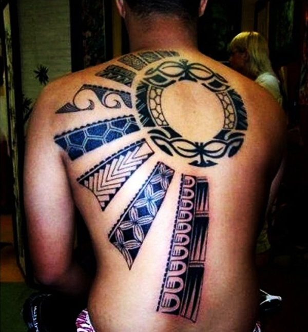 Sun Tattoo Designs for Men and Women (30)