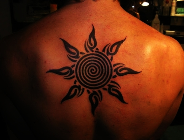 Sun Tattoo Designs for Men and Women (34)