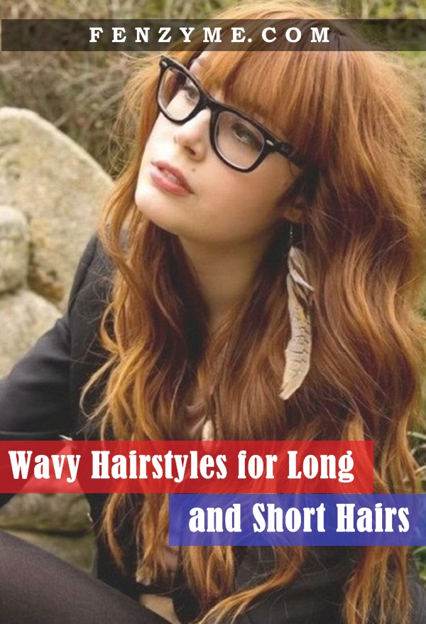 Wavy hairstyles for Long and Short Hairs (1)