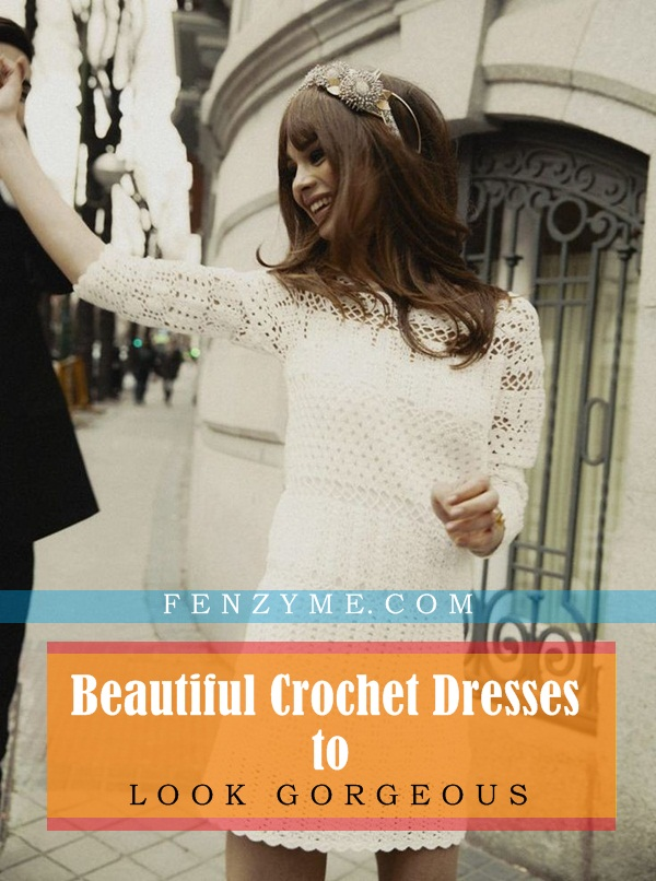 Beautiful Crochet Dresses1.1