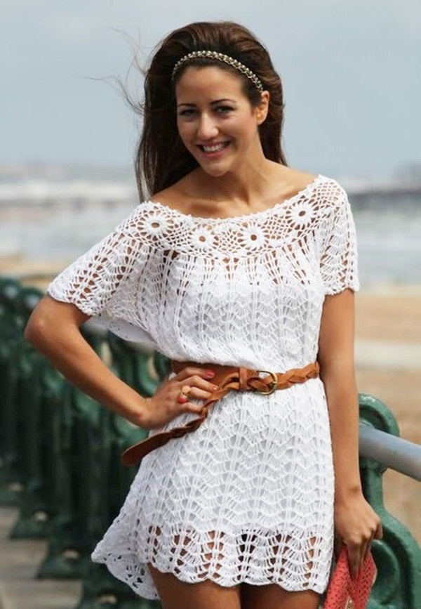 Beautiful Crochet Dresses11