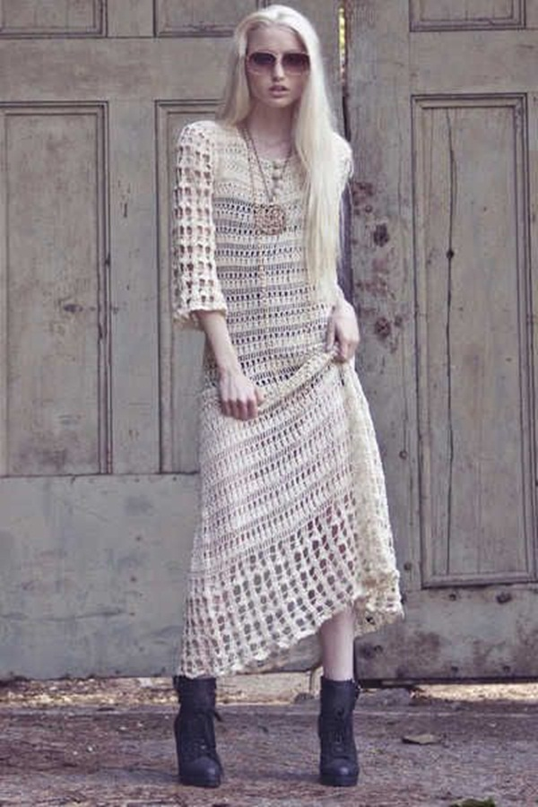 Beautiful Crochet Dresses16