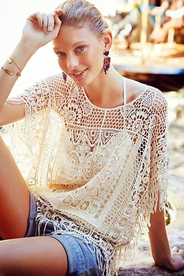 Beautiful Crochet Dresses21