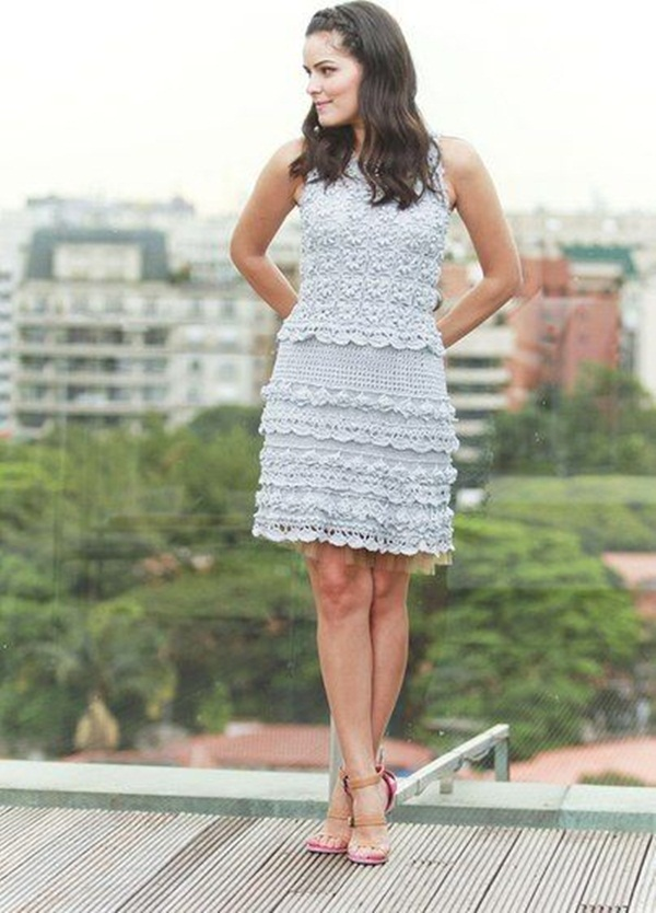 Beautiful Crochet Dresses22