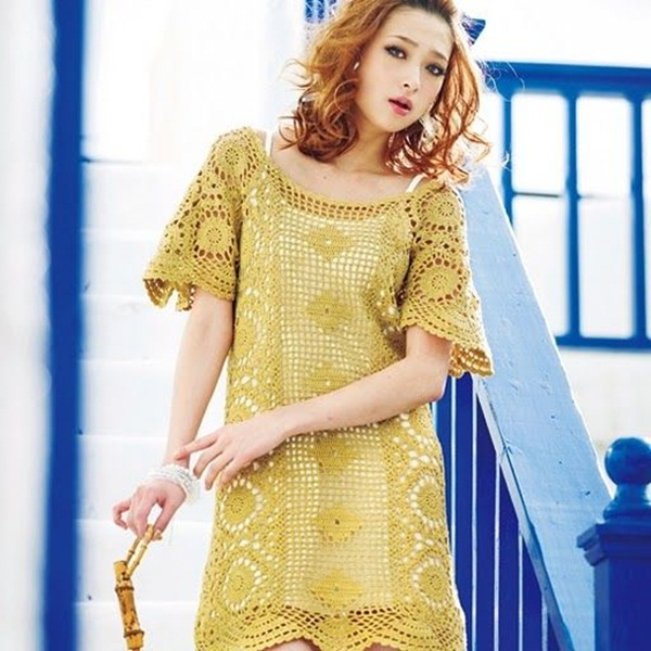 Beautiful Crochet Dresses23