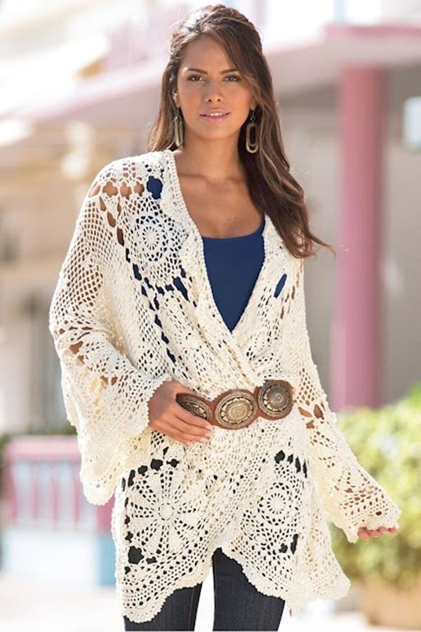 Beautiful Crochet Dresses24
