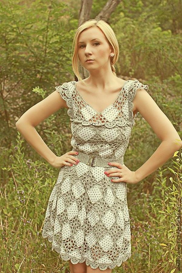 Beautiful Crochet Dresses27