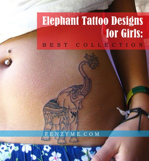 Elephant Tattoo Designs for Girls1.1