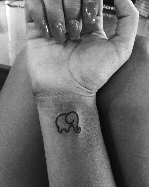 Elephant Tattoo Designs for Girls16