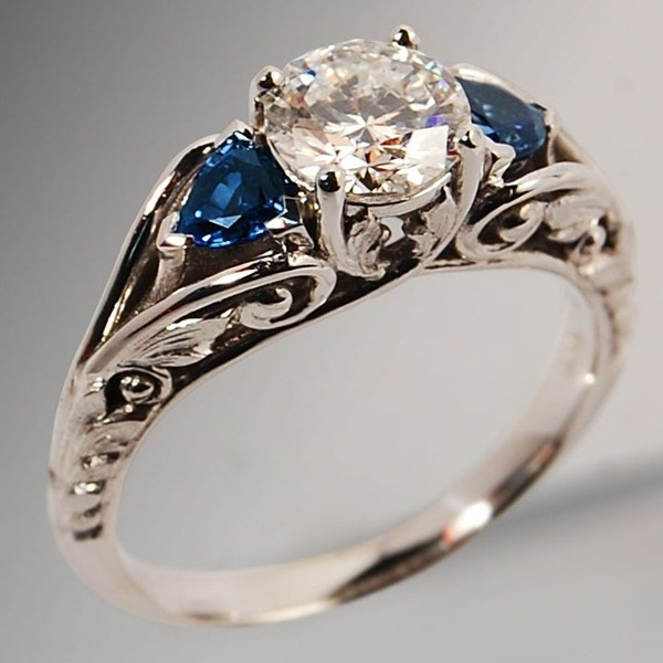 Latest Wedding Ring Designs21