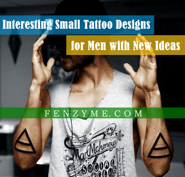 Small Tattoo Designs for Men1.1