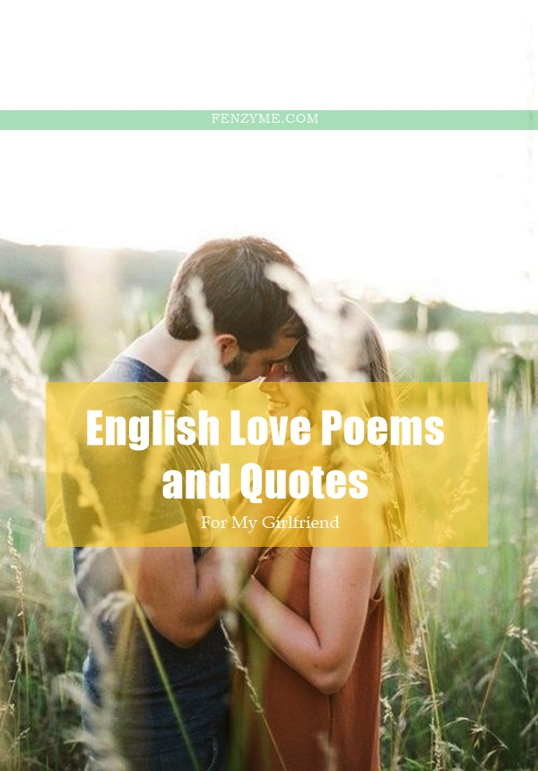 English Love Poems and Quotes for My Girlfriend1.2
