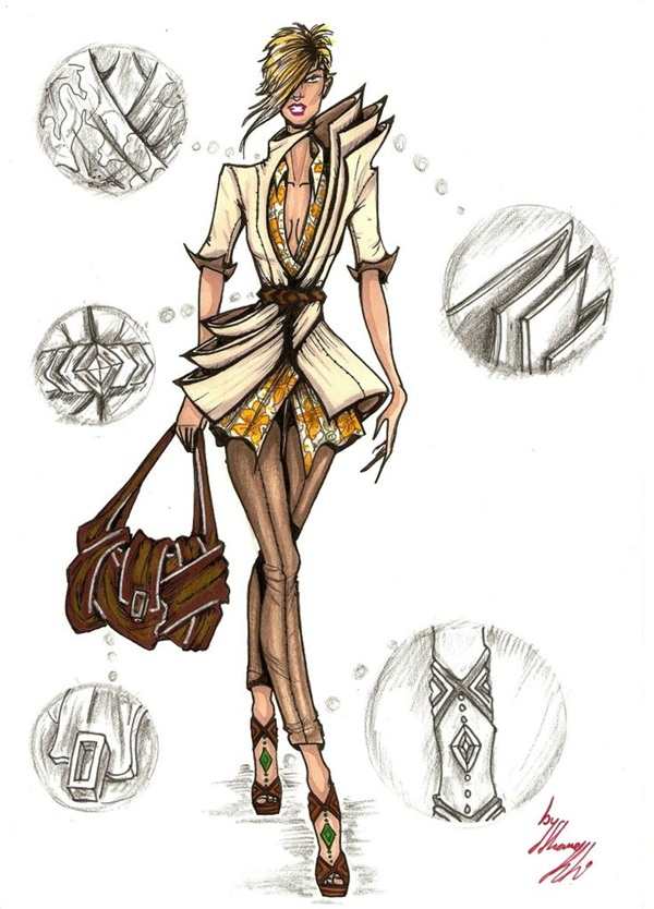 Fashion Sketches and Illusrations1