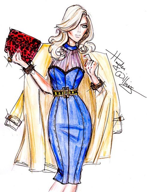 Fashion Sketches and Illusrations11