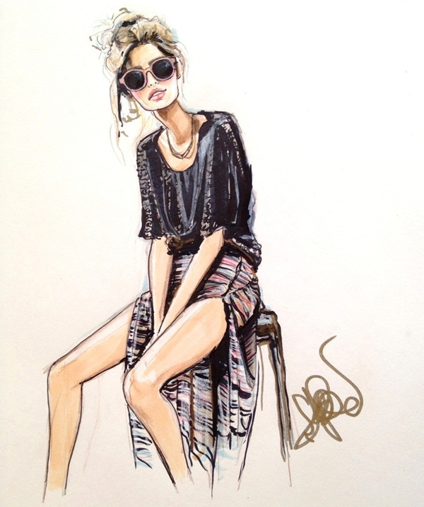 Fashion Sketches and Illusrations13