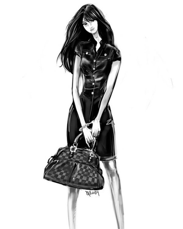 Fashion Sketches and Illusrations35