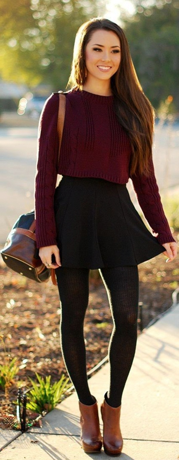 Reasons to wear dark colored dresses in winter1 (3)