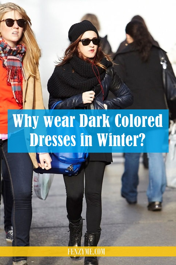 Reasons to wear dark colored dresses in winter1 (4)