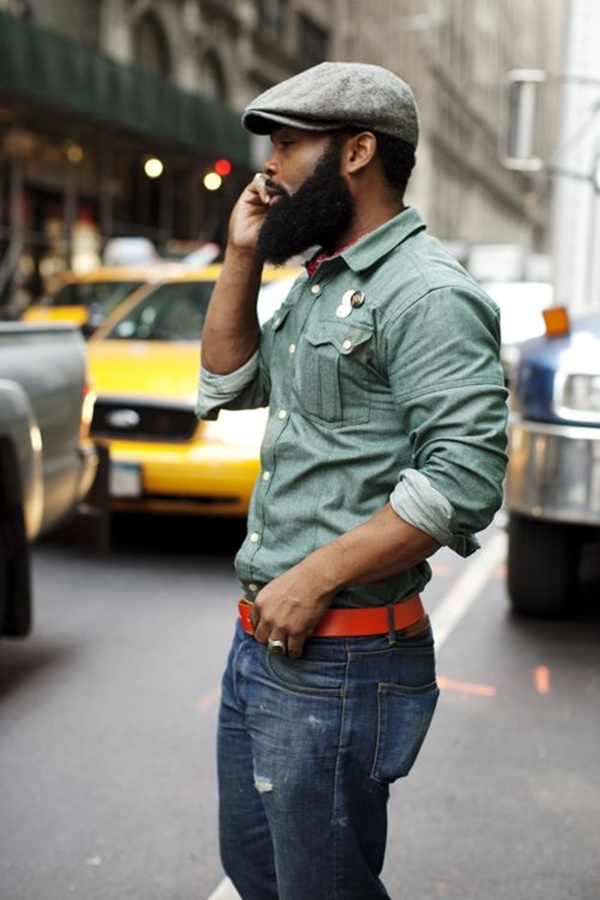 Hot Black Men Beard Styles10