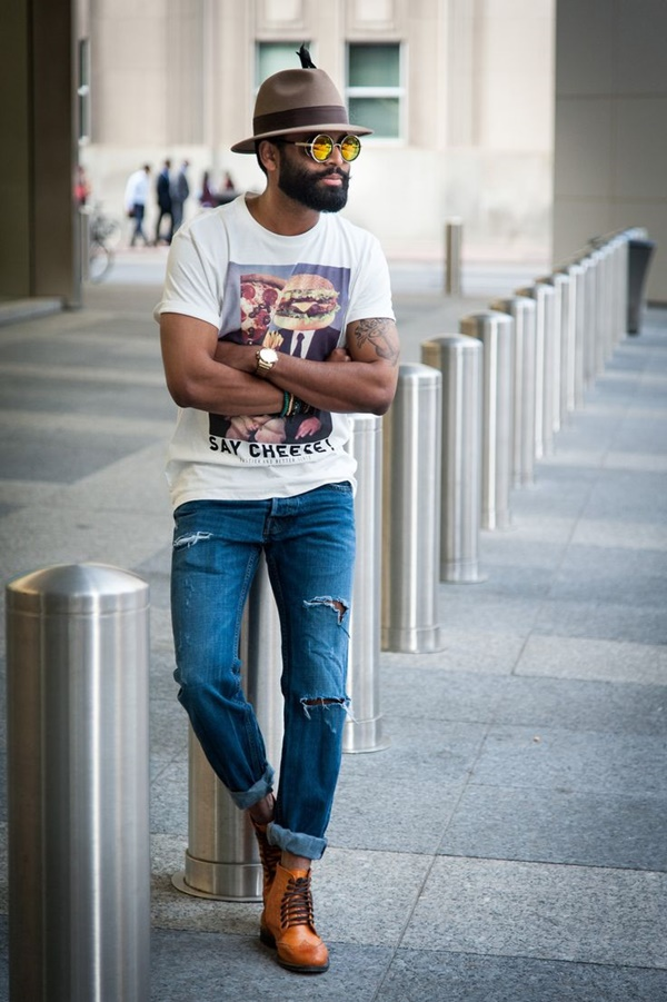 Hot Black Men Beard Styles27