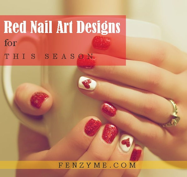 Red Nail Art Designs1.1