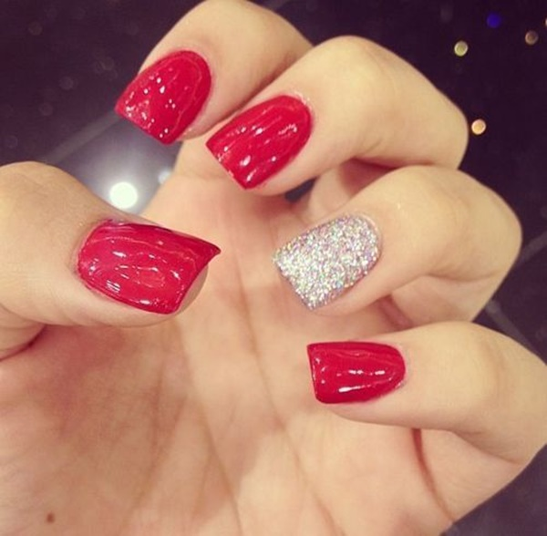 Red Nail Art Designs1