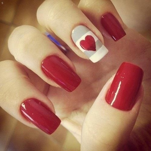 Red Nail Art Designs11