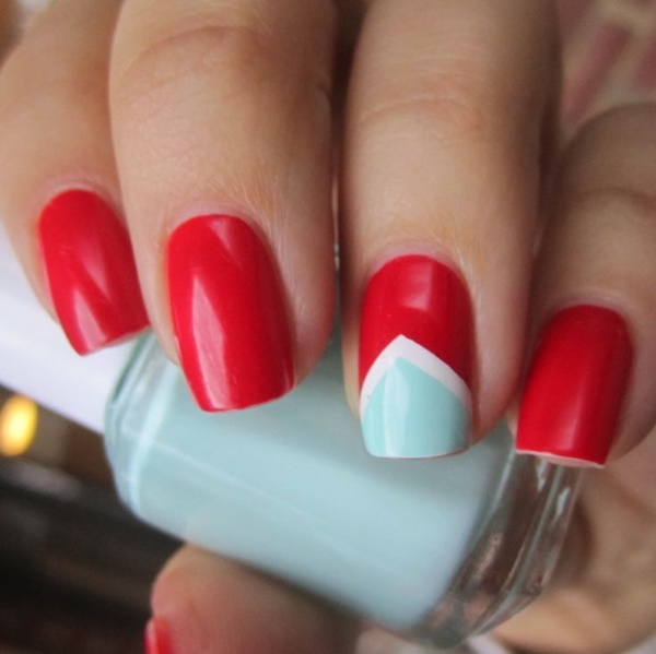 Red Nail Art Designs14