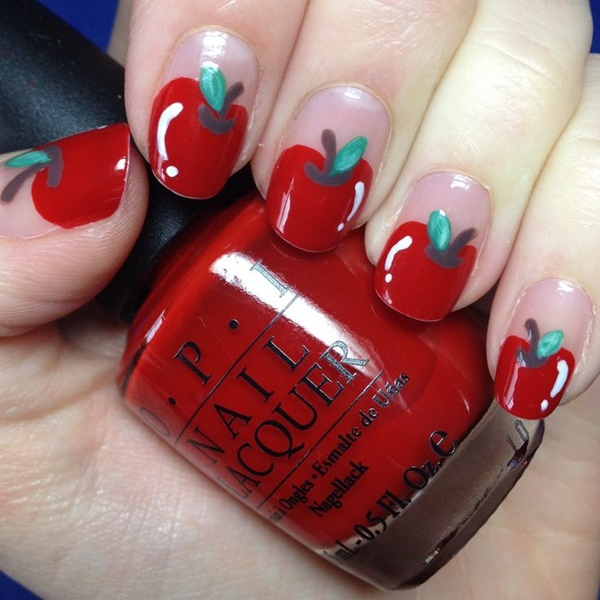 Red Nail Art Designs16