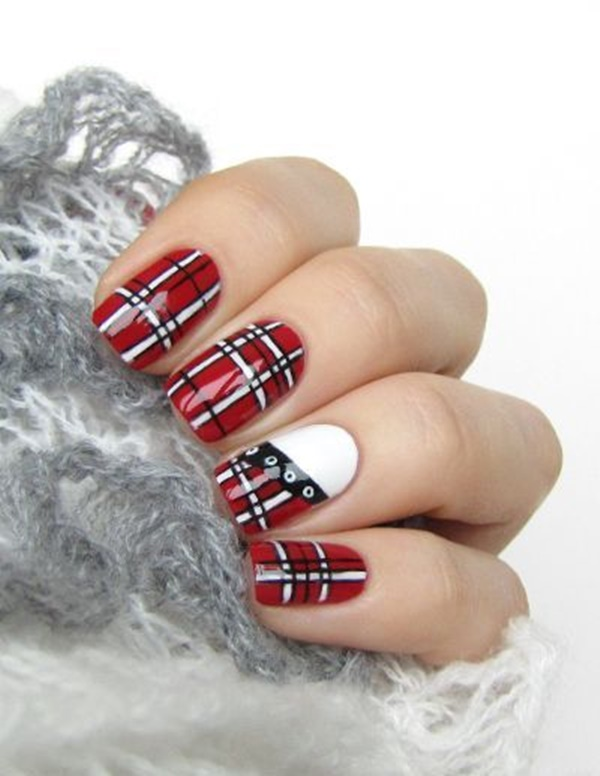 Red Nail Art Designs7