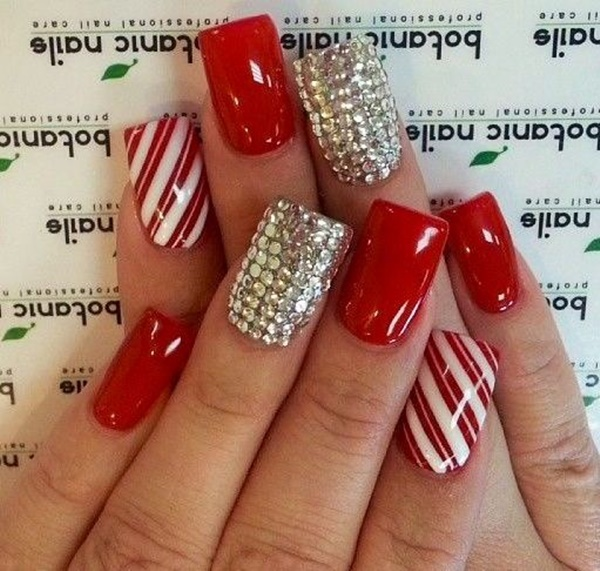 50 Red Nail Art Designs for this Season