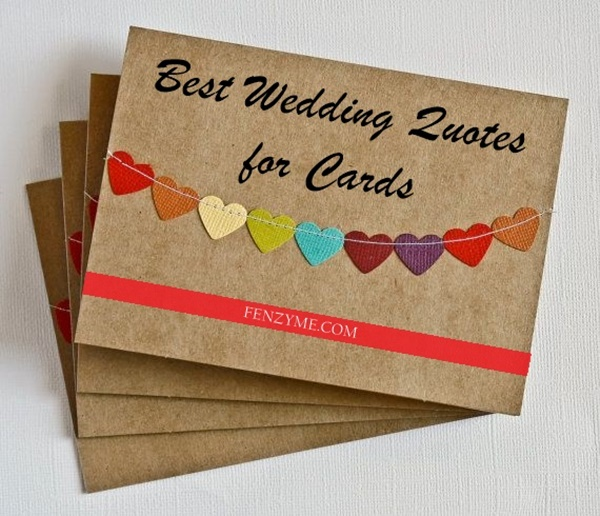 Best Wedding Quotes for Cards1.1