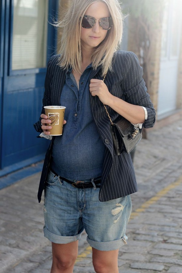 40 Classy Maternity Outfits for Pregnant Women