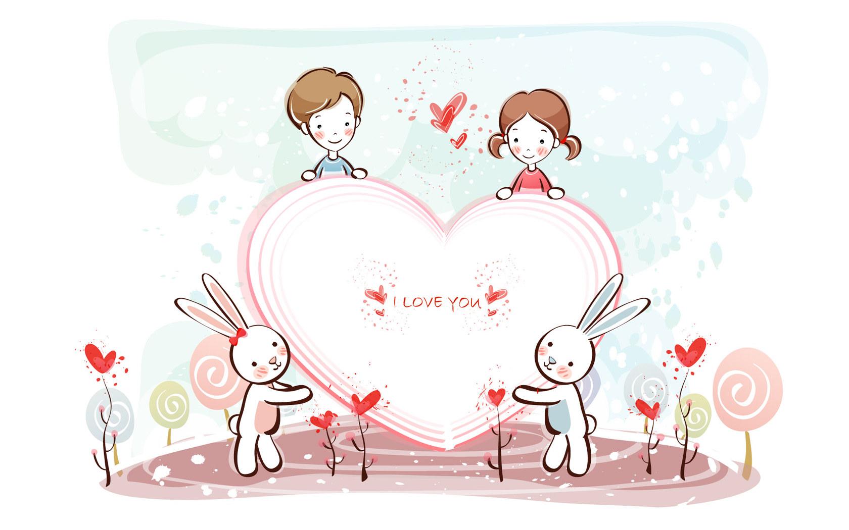 Cute Valentine Day Wallpaper (4)