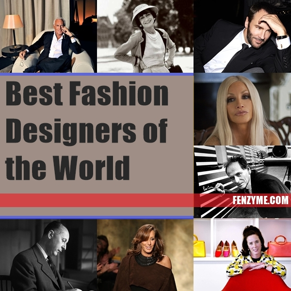 Best Fashion Designers of the World1.1
