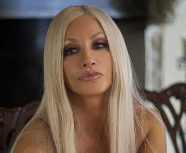 FOR TV WEEK -- DO NOT PURGE -- HOUSE OF VERSACE -- LIFETIME --  House of Versace Gina Gershon stars as ìDonatella Versaceî in the all-new Lifetime Original Movie, House of Versace, premiering Saturday, October 5, at 8pm ET/PT on Lifetime.  Photo by Jan Thjis Copyright 2013